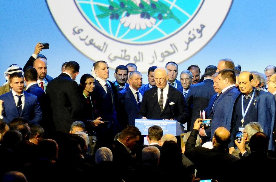 Sočyje baigėsi Sirijos taikos derybos