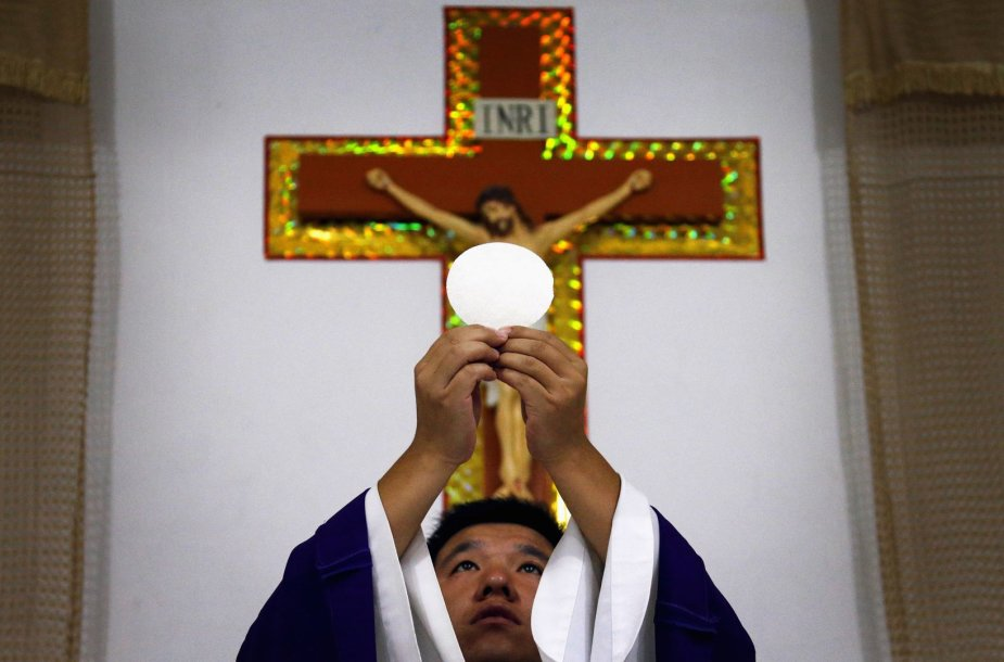 Katalikų kunigas Kinijoje