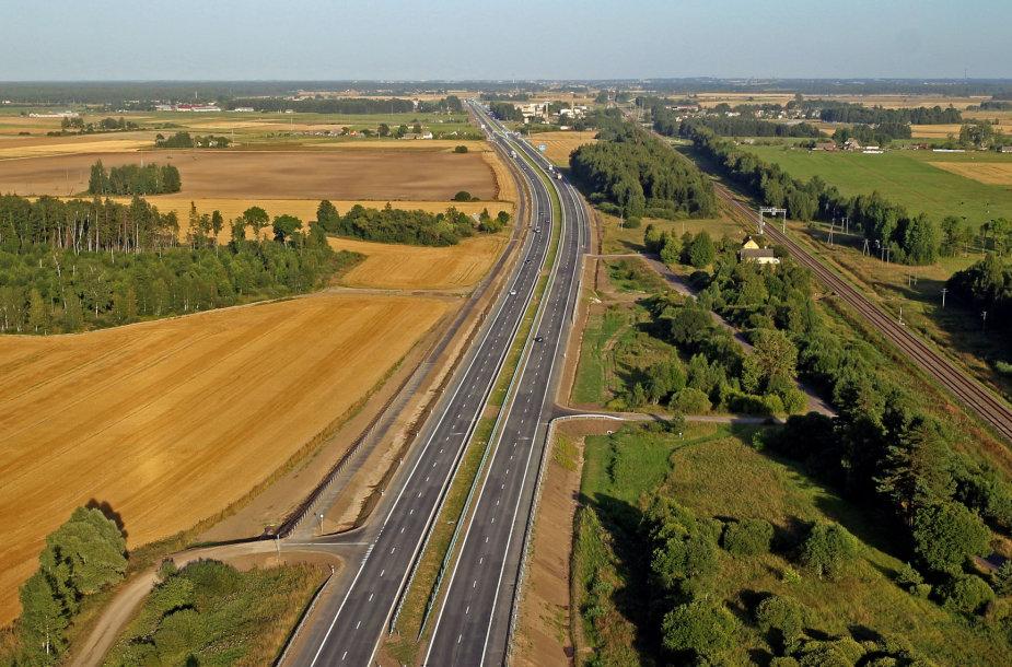 Kelias Šiauliai-Palanga
