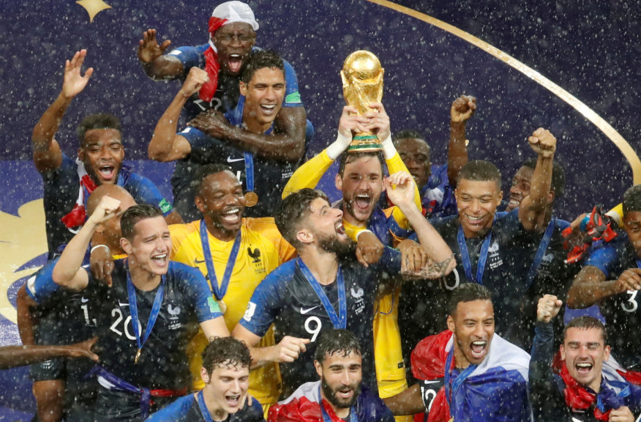 Prancūzijos rinktinė – pasaulio čempionė