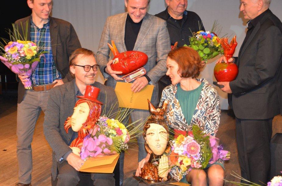 Varėnoje apdovanoti 7-ojo Dalios Tamulevičiūtės profesionalių teatrų festivalio laureatai
