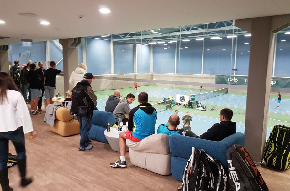 "Vilniuje vyko ""Grand Cup Autumn Open"" teniso turnyras"