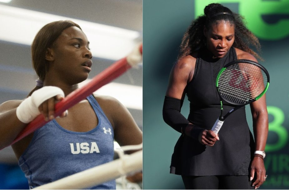 Claressa Shields ir Serena Williams