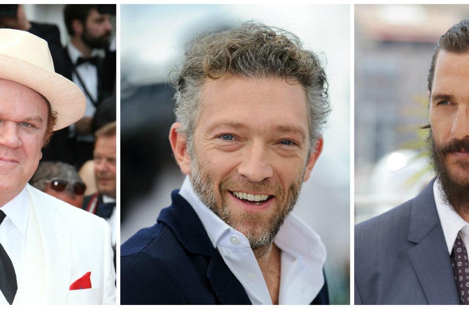 Iš kairės: Johnas C. Reilly, Vincent'as Casselis, Matthew McConaughey