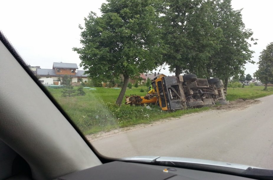 Krano avarija Klaipėdoje