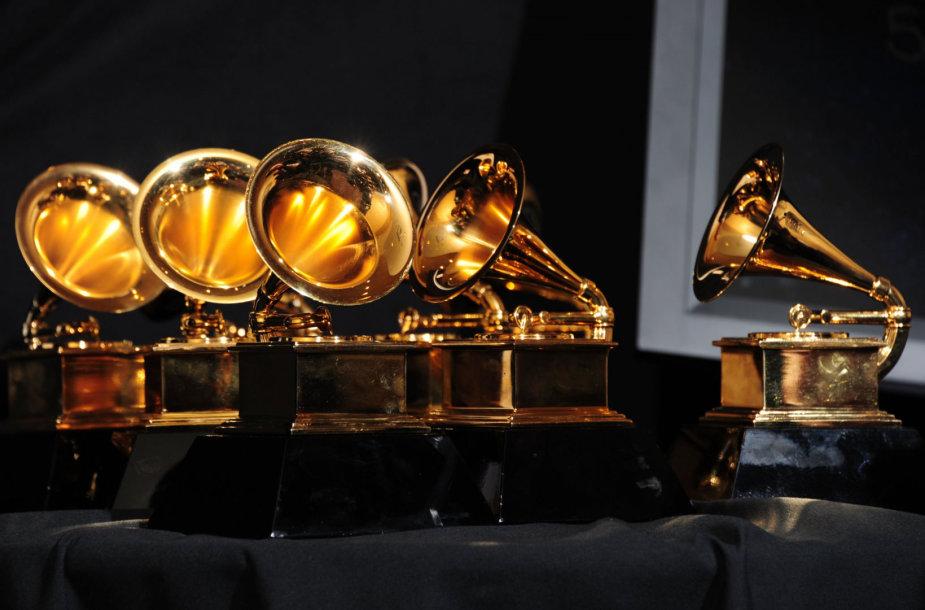 """""""Grammy"""" trofėjai"""