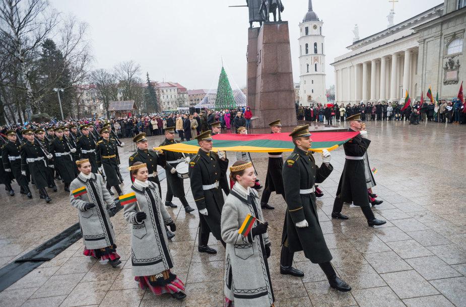 Vėliavos diena Vilniuje