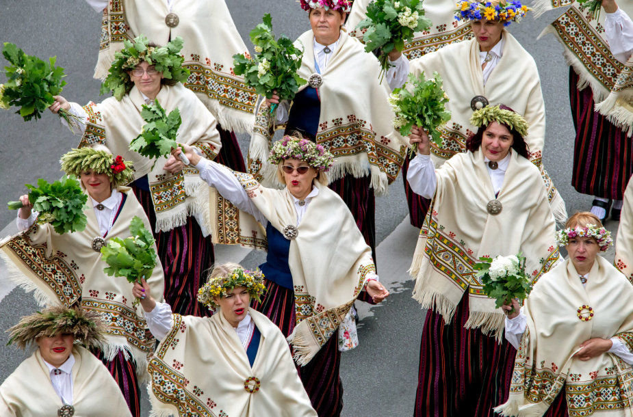 Latvijos dainų ir šokių šventė