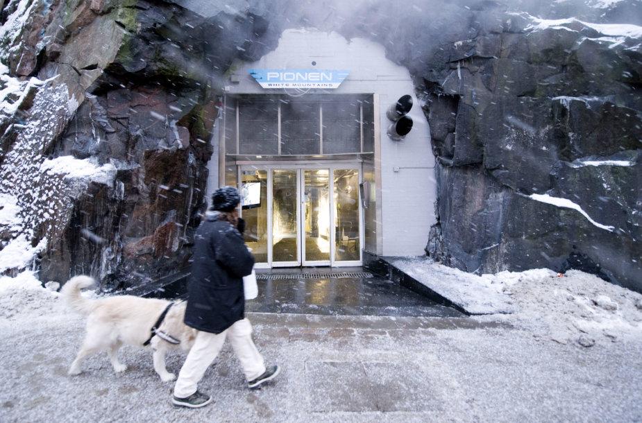 Buvęs Šaltojo karo laikų bunkeris Švedijoje