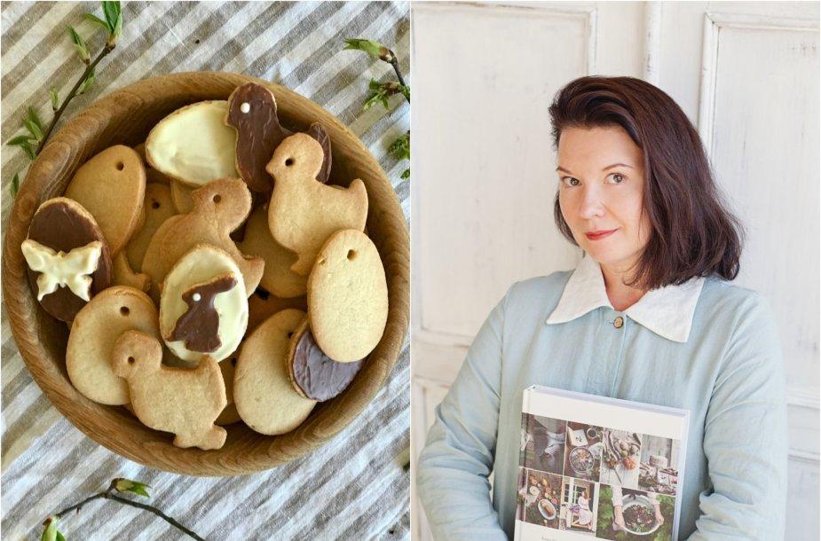 Renata Ničajienė ir jos kepti sausainiai