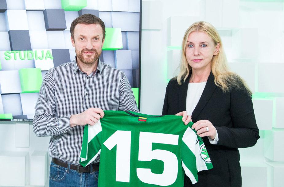 Ramūnas Šaučikovas ir Vilma Venslovaitienė