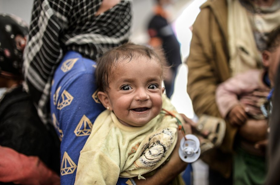 Kūdikis Irake