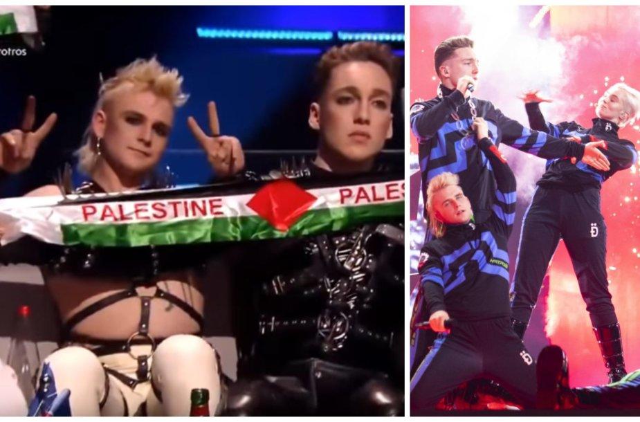"""Islandijos atstovai """"Eurovizijoje"""" grupė """"Hatari"""""""