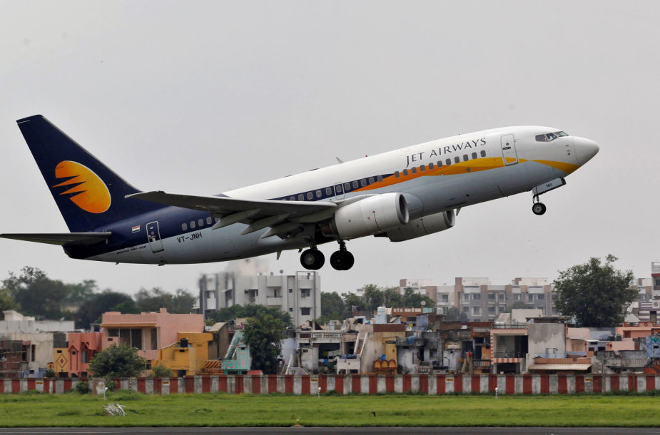 """Jet Airways"" lėktuvas"