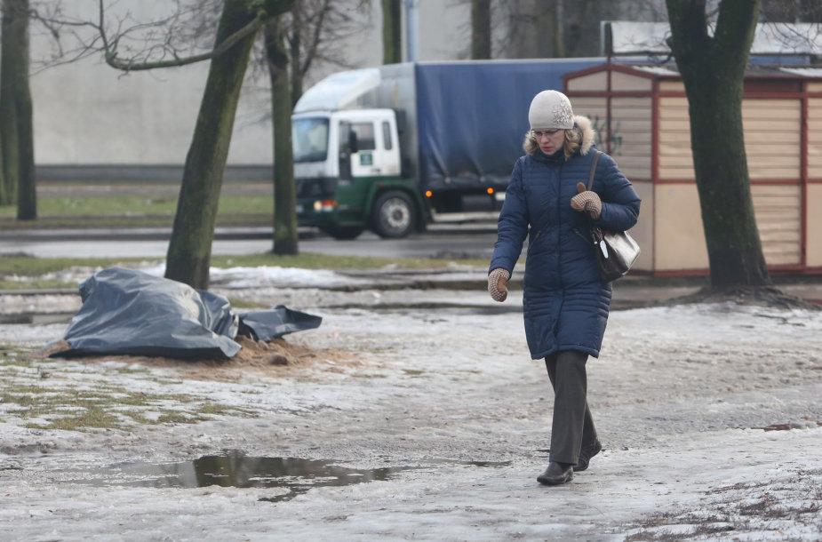 Šaligatviai Vilniaus kiemuose