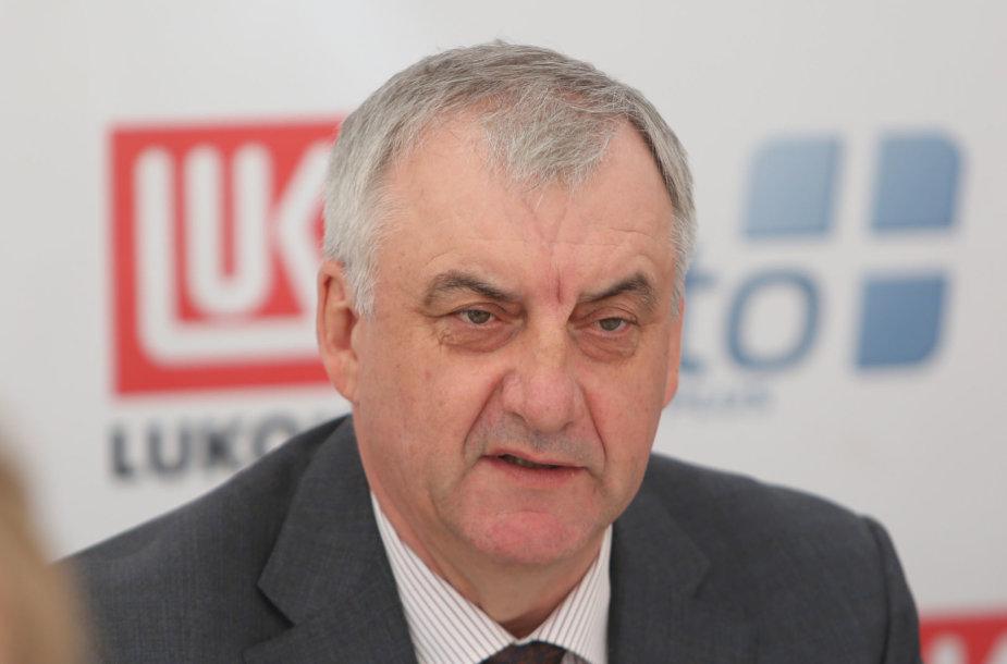 """""""Lukoil Baltija"""" vadovas Ivanas Paleičikas"""