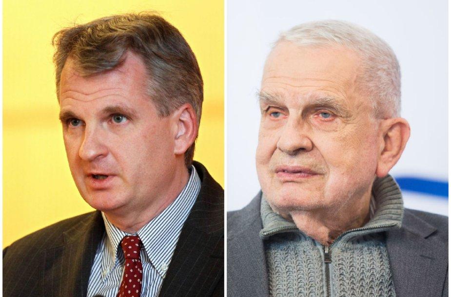 Timothy Snyder ir Tomas Venclova