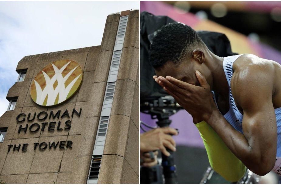 Londono pasaulio čempionatą sukrėtė noravirusas