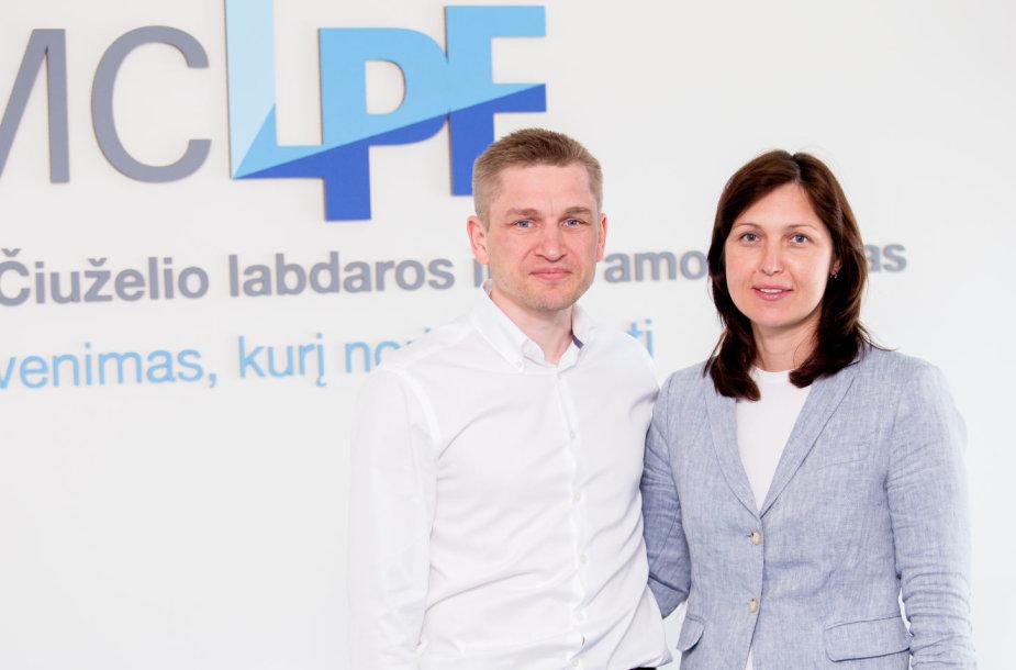 Marius ir Kristina Čiuželiai