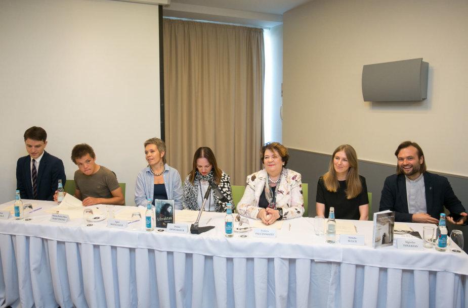"Leidyklos ""TYTO ALBA"" spaudos konferencija"
