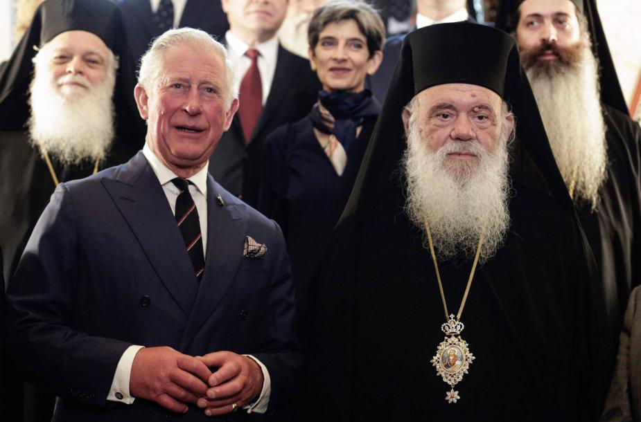 Princas Charlesas ir arkivyskupas Jeronimas