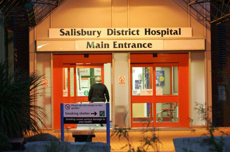 Salisburio ligoninė, kurioje laikomas Sergejus Skripalis