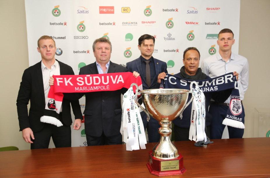 Algis Jankauskas, Vladimiras Čeburinas, Tomas Danilevičius, Mariano Barreto ir Rimvydas Sadauskas