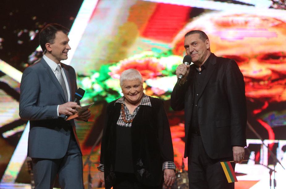 Veronika Pavilionienė ir Algirdas Kaupšpėdas