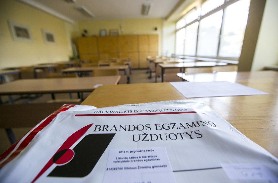 Lietuvių kalbos ir literatūros brandos egzaminas Žirmūnų gimnazijoje