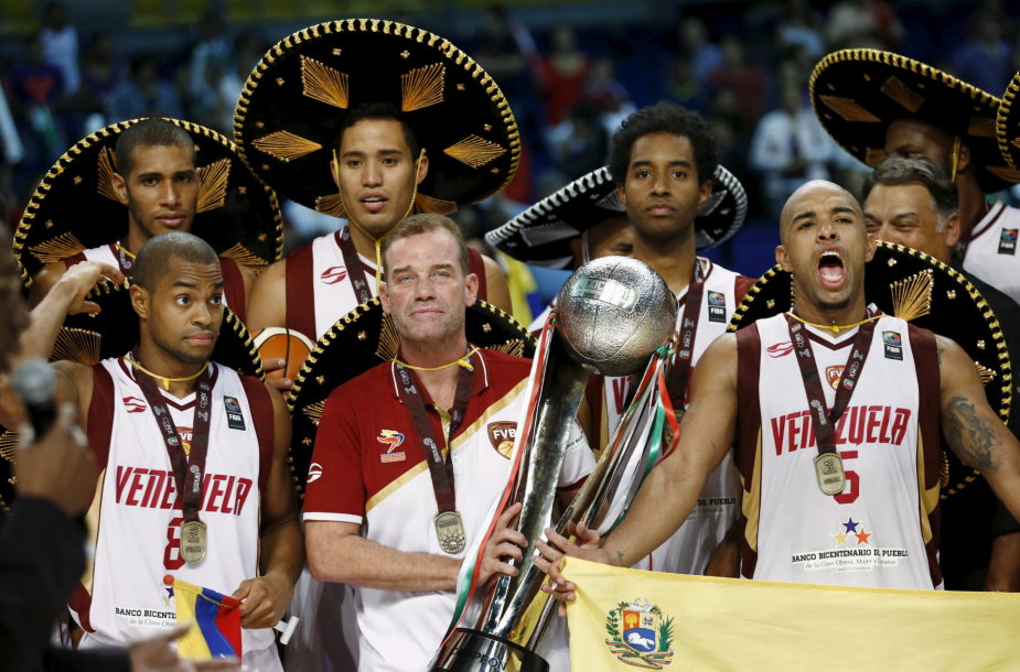 Venesuelos krepšinio rinktinė