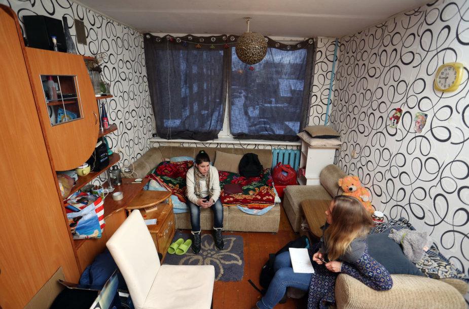 Socialinio būsto nesulaukianti dviejų mažamečių mama