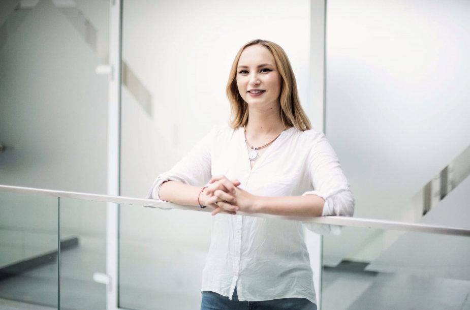 Kauno technologijos universiteto studentė Julija Kravčenko.