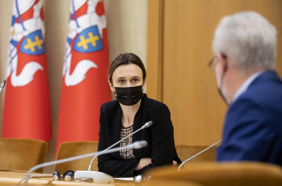 Viktorija Čmilytė-Nielsen, Jurgis Razma