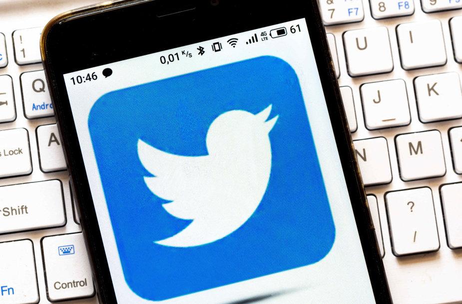 """""""Twitter"""" logotipas"""