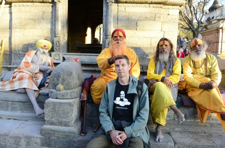 Š.Mikulskio dokumentinio filmo dėmesio centre – patirtis ir pažintis su Nepalu