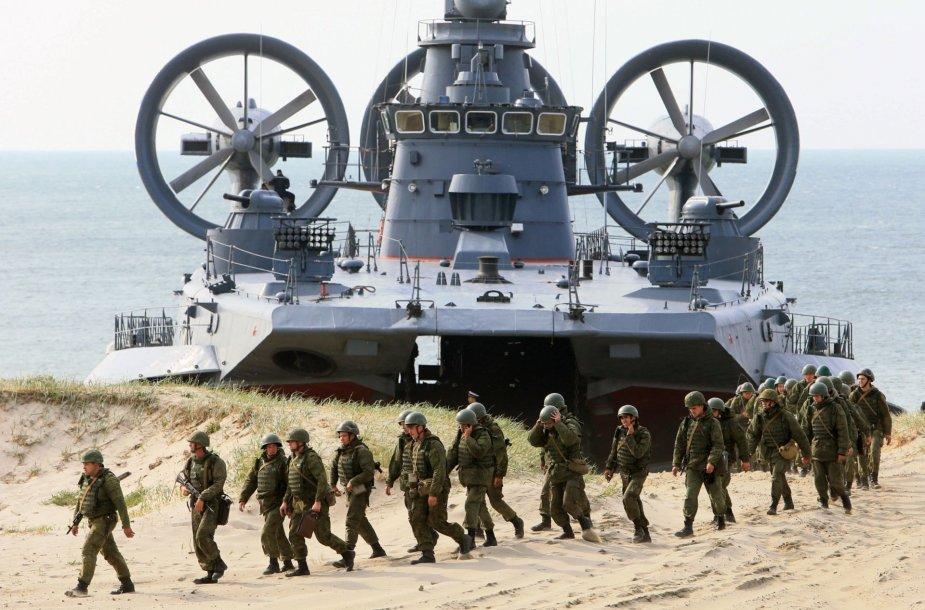 Rusijos kariškiai ir karinė technika Kaliningrado srityje