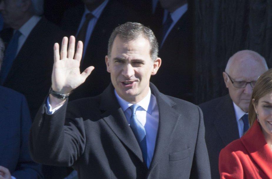 Ispanijos karalius Felipe VI