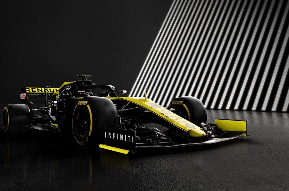 """Renault"" F1 bolidas (2019)"