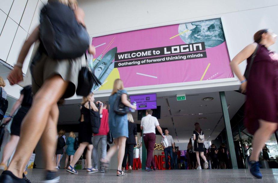 """Technologijų ir inovacijų festivalis """"LOGIN 2019"""""""
