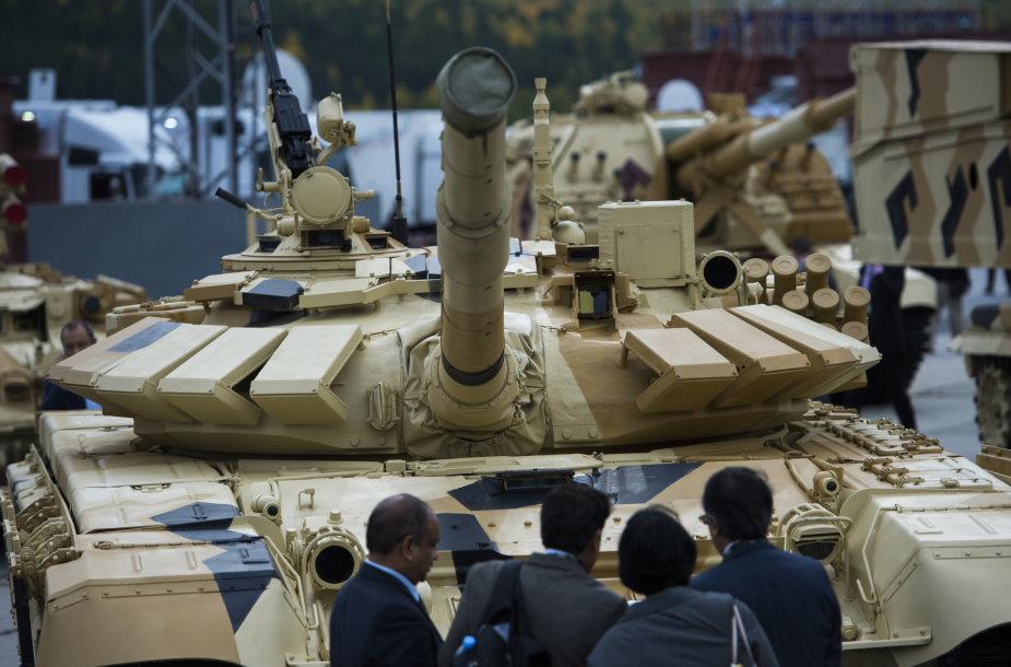"""Russia Arms Expo"" paroda"