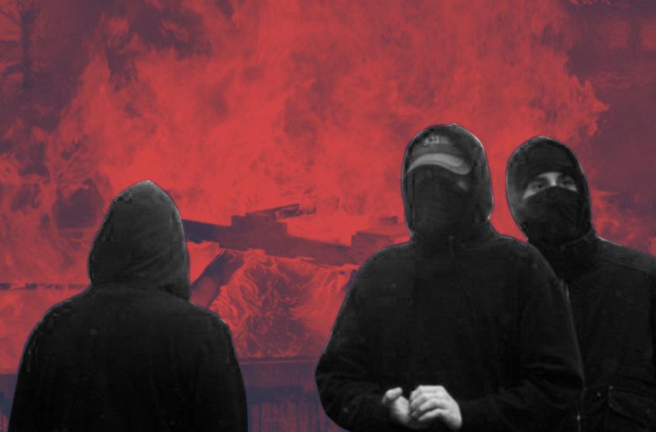 """Forumo """"IronMarch"""" nariai lietuviai – jaunuoliai"""
