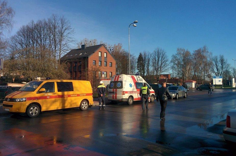 Klaipėdoje statybvietėje prie Geležinkelio stoties aptiktas sprogmuo.