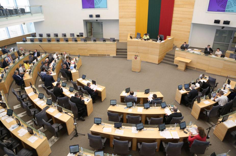 Seimas baigė pavasario sesija