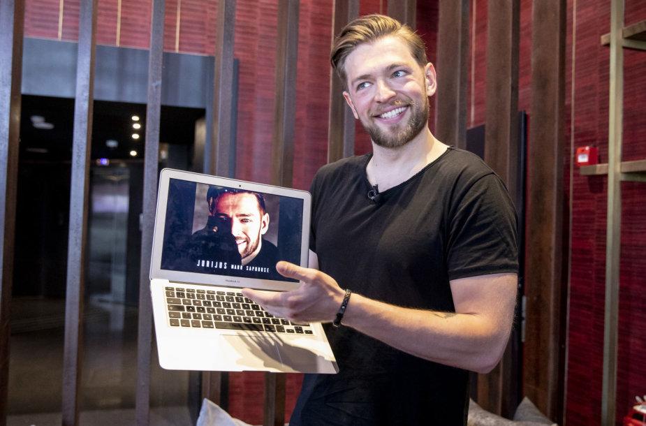Jurijus Veklenko pristatė savo pirmą albumą