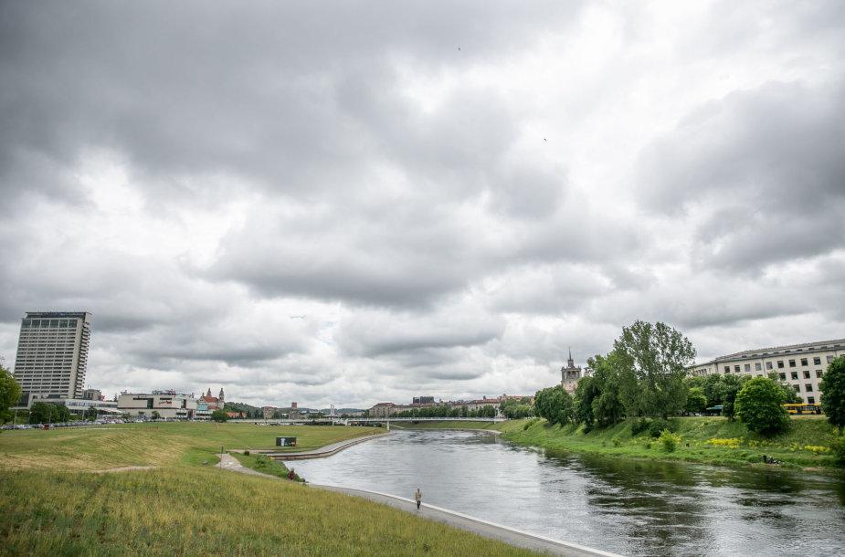 Niūrus oras Vilniuje
