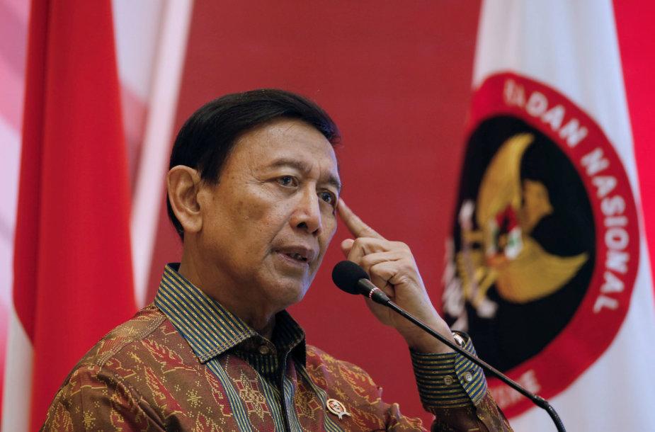 Indonezijos saugumo ministras Wiranto