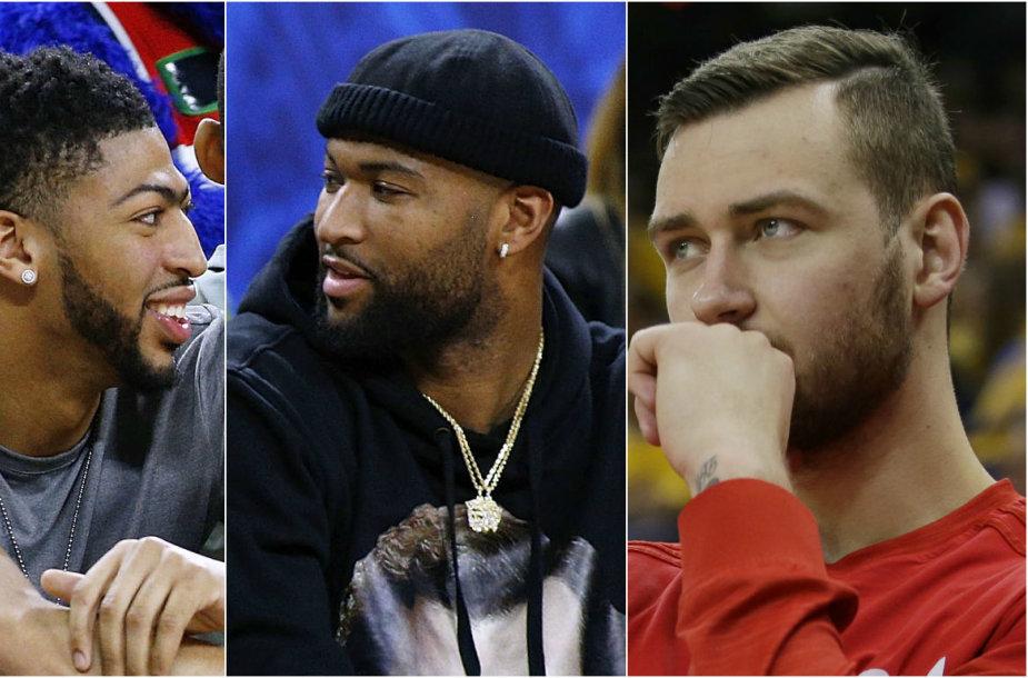 """""""Pelicans"""" mainai gali smarkiai atsiliepti D.Motiejūno minutėms"""