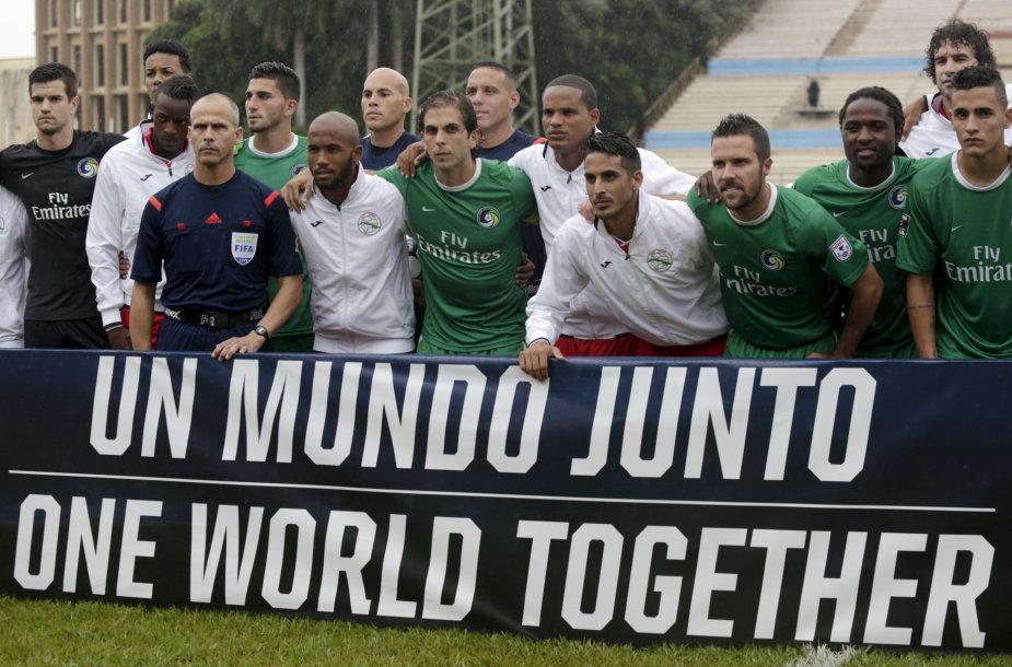 """Rungtynių akimirka: Kubos rinktinė – """"Cosmos"""""""
