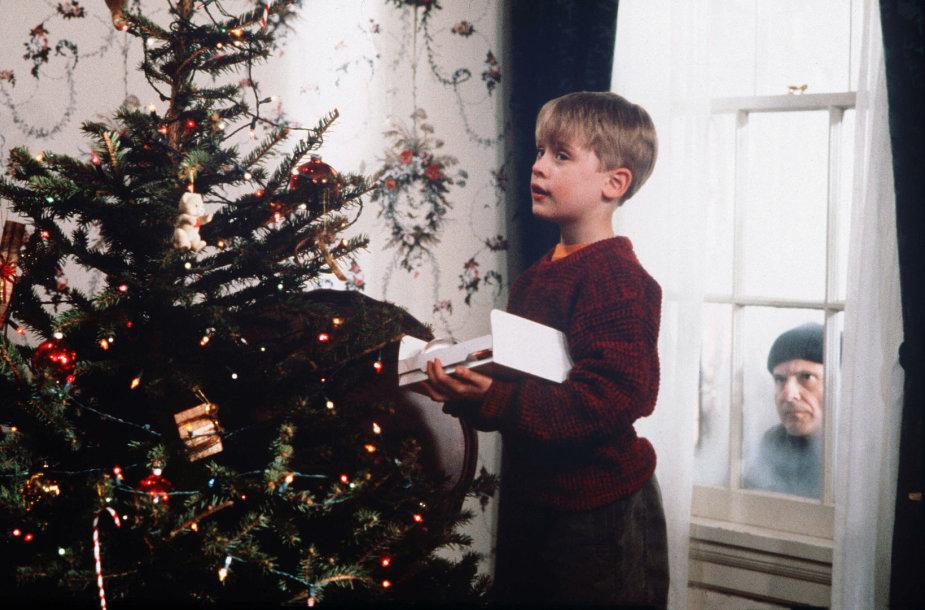 """Macaulay Culkinas filme """"Vienas namuose"""""""