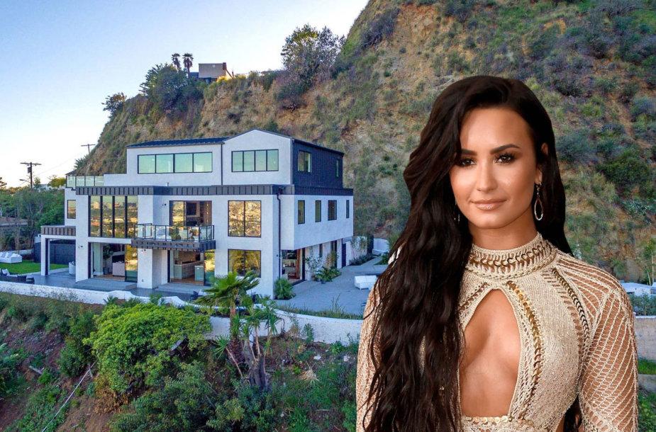 Demi Lovato ir jos namai Los Andžele